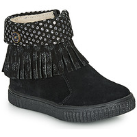 Shoes Girl Mid boots Catimini PERETTE Black