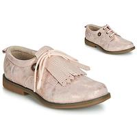 Shoes Girl Derby shoes Catimini ROMY Vte / Pink / Powder / Dpf / Regola