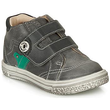 Shoes Boy High top trainers Catimini BICHOU Nus / Grey / Dpf / Times