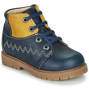 Shoes Boy High top trainers Catimini CHARLY Marine-mustard / Dpf / 2900