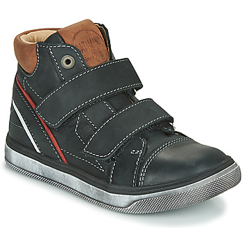 Shoes Boy High top trainers Catimini ROBBY Black