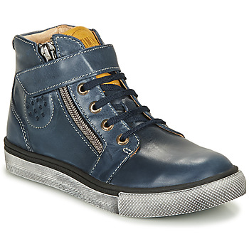 Shoes Boy High top trainers Catimini TOBBY Marine
