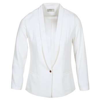 material Women Jackets / Blazers Betty London IKAROLE White