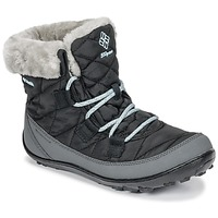 Shoes Children Snow boots Columbia YOUTH MINX SHORTY OMNI-HEAT™ WATERPROOF Black