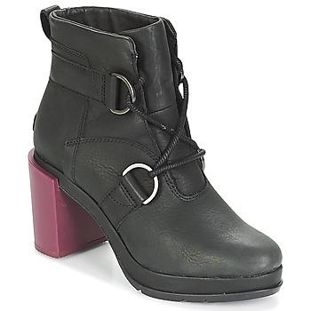Shoes Women Ankle boots Sorel MARGO LACE Black