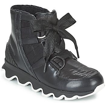 Shoes Women Snow boots Sorel KINETIC™ SHORT LACE Black
