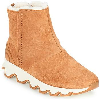 Shoes Women Snow boots Sorel KINETIC SHORT Camel