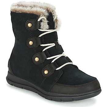 Shoes Women Mid boots Sorel SOREL™ EXPLORER JOAN Black