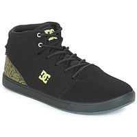 Shoes Children High top trainers DC Shoes CRISIS HIGH SE B SHOE BK9 Black / Green