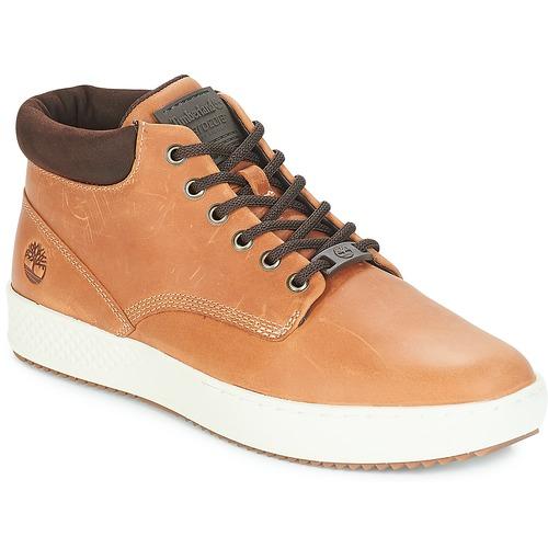 Shoes Men High top trainers Timberland CityRoam Cupsole Chukka Brown