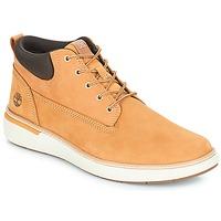Shoes Men High top trainers Timberland Cross Mark PT Chukka Wheat b74ed128bf7