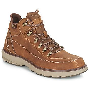Shoes Men Mid boots Caterpillar PRIME Beige / Dark
