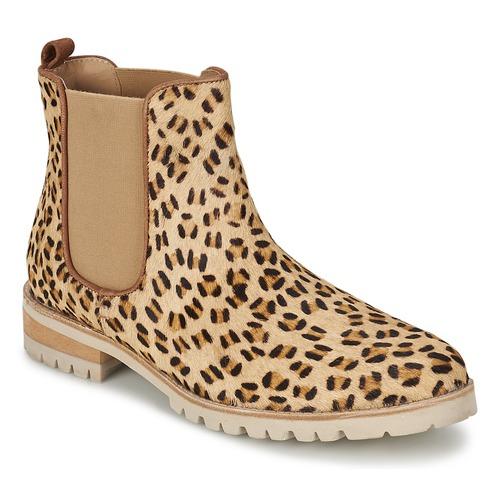 Shoes Women Mid boots Maruti PARADISE White / Black