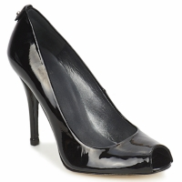 Shoes Women Court shoes Stuart Weitzman LOGOFLAME  BLACK / Patent
