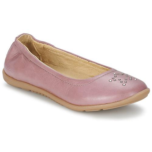 Shoes Girl Ballerinas Mod'8 OLIVIA Pink