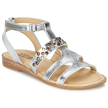 Shoes Girl Sandals Mod'8 JADE Silver