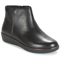 Shoes Women Mid boots FitFlop ZIGGY ZIP Black
