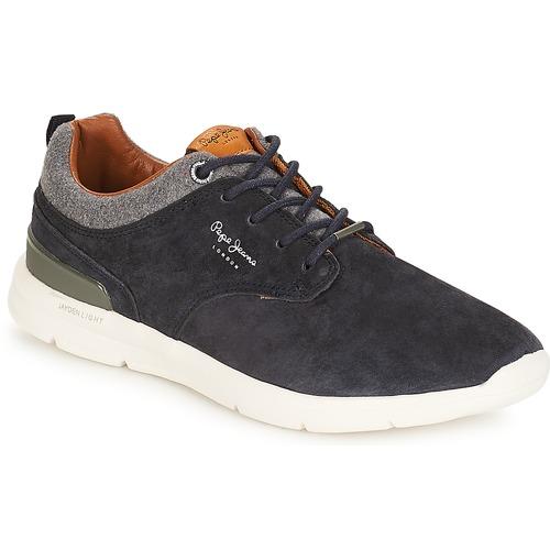 Shoes Men Low top trainers Pepe jeans Jayden Marine