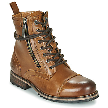 Shoes Women Mid boots Pepe jeans MELTING Brown