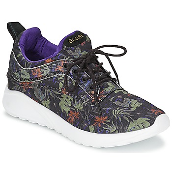 Shoes Low top trainers Globe ROAM LYTE Black / Violet