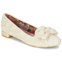Shoes Women Ballerinas Irregular Choice CHAN TILY Cream