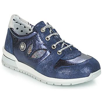 Shoes Girl Ballerinas Catimini CHOCHOTTE Blue