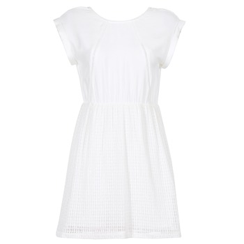 material Women Short Dresses Moony Mood INDI White