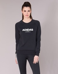 material Women sweaters adidas Performance ESS ALLCAP SWT Black