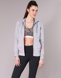 material Women sweaters adidas Performance ESS LIN FZ HD Grey