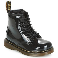 Shoes Girl Mid boots Dr Martens 1460 PATENT CADET Black