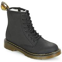 Shoes Girl Mid boots Dr Martens SERENA JUNIOR Black