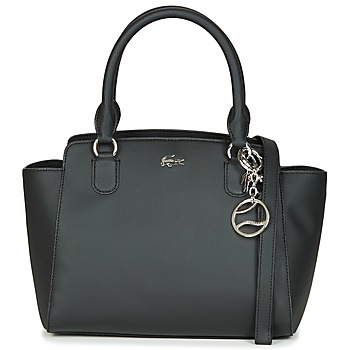 Bags Women Handbags Lacoste DAILY CLASSIC SHOPPING BAG Black