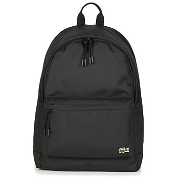 Bags Men Rucksacks Lacoste NEOCROC BACKPACK Black