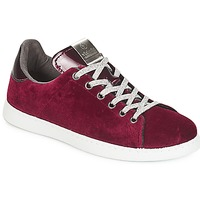 Shoes Women Low top trainers Victoria DEPORTIVO TERCIOPELO Bordeaux