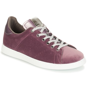 Shoes Women Low top trainers Victoria DEPORTIVO TERCIOPELO Violet