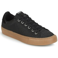 Shoes Women Low top trainers Victoria DEPORTIVO METALIZADO Black