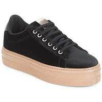 Shoes Women Low top trainers Victoria DEPORTIVO TERCIOPELO/CARAM Black