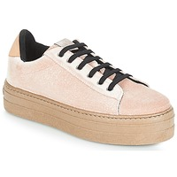 Shoes Women Low top trainers Victoria DEPORTIVO TERCIOPELO/CARAM Beige