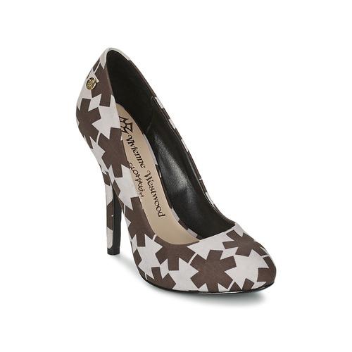 Shoes Women Court shoes Vivienne Westwood MAGGIE II Black / White