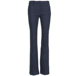 material Women 5-pocket trousers Joseph ROCKET MARINE