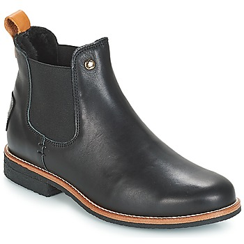Shoes Women Mid boots Panama Jack GIORDANA Black