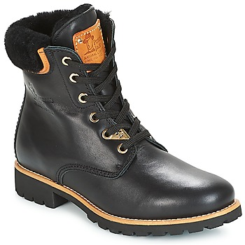 Shoes Women Mid boots Panama Jack PANAMA Black
