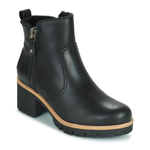 Shoes Women Mid boots Panama Jack PAULINE Black