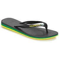 Shoes Men Flip flops Havaianas Brasil Layers Black