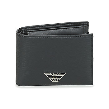 Bags Men Wallets Emporio Armani BUSINESS BI FOLD WALLET Black