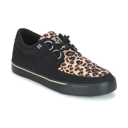 Shoes Low top trainers TUK SNEAKER CREEPER Black / Brown