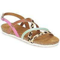 Shoes Women Sandals Bunker LAST MAHON Multicolour