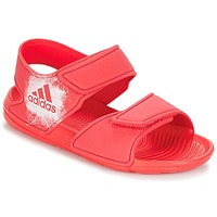 Shoes Girl Sandals adidas Performance ALTASWIM C Pink