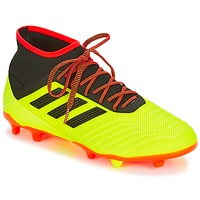 Shoes Men Football shoes adidas Performance PREDATOR 18.2 FG Yellow / Black / Red