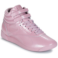 Shoes Women High top trainers Reebok Classic FREESTYLE HI Violet